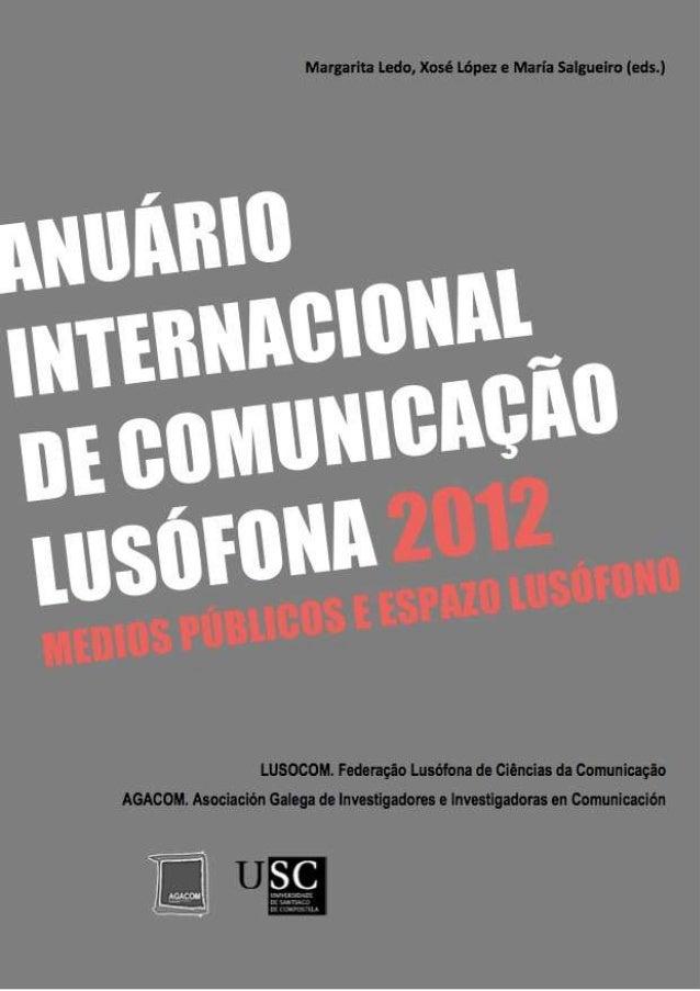 ANUARIO LUSOCOM 2012
