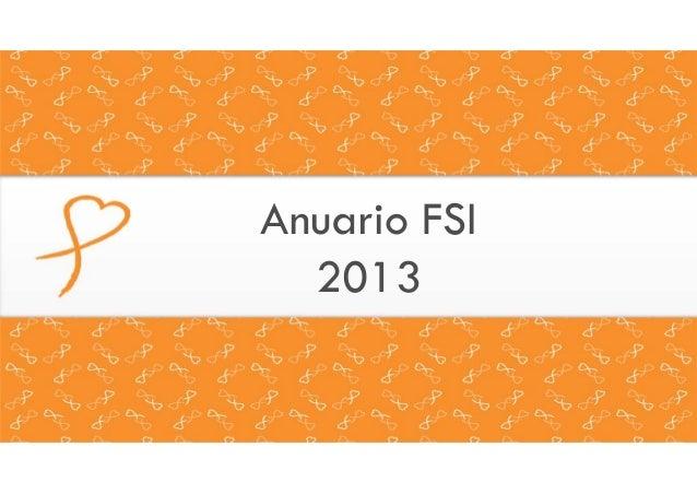 Anuario FSI 2013