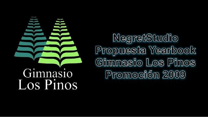 Propuesta Anuario Pinos 2009