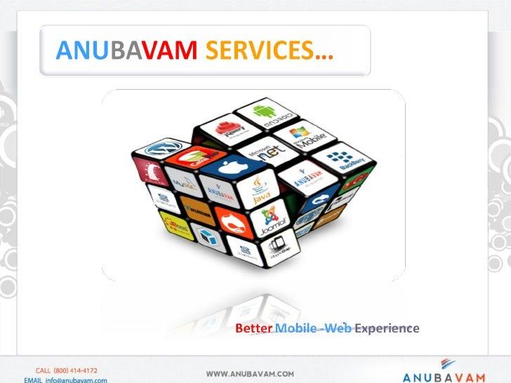 Anubavam Services