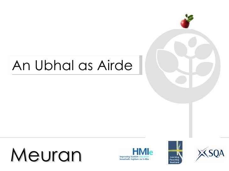 Meuran An Ubhal as Airde