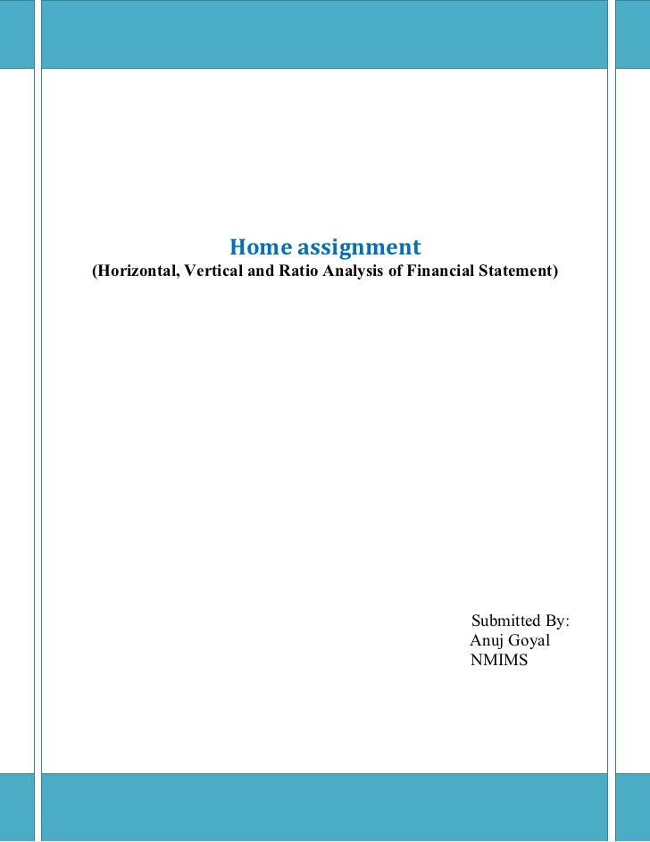 Horizontal Vertical And Ratio Analysis Essays – 740723