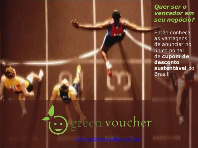Anunciar no green voucher