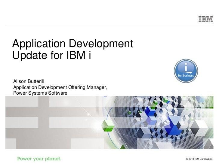 IBM i 7.1 - Desarrollo de aplicaciones