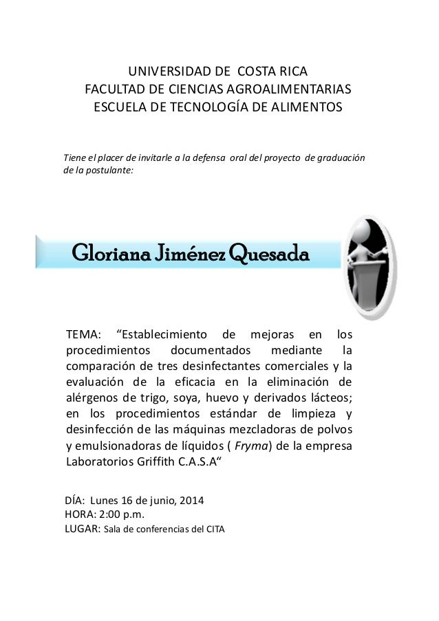 UNIVERSIDADDECOSTARICA FACULTADDECIENCIASAGROALIMENTARIAS ESCUELADETECNOLOGÍADEALIMENTOS Tieneelplacerdei...
