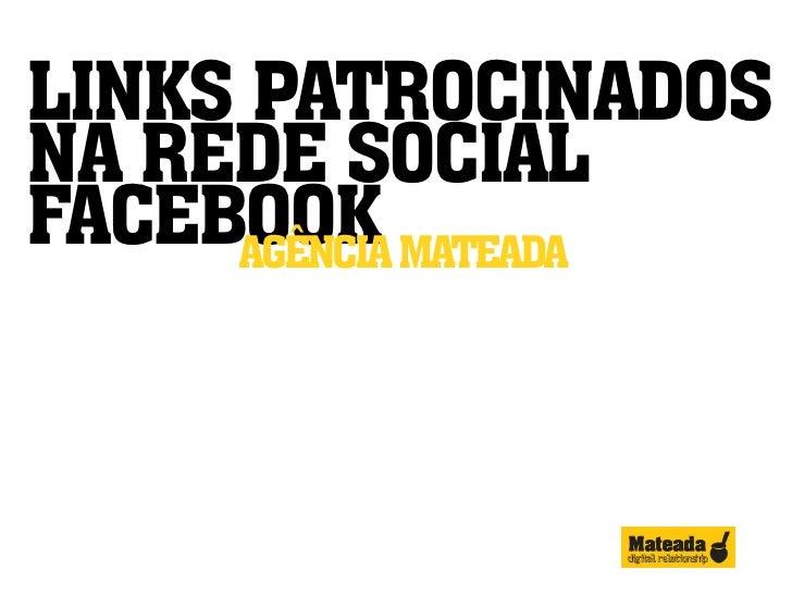 Links Patrocinados no Facebook