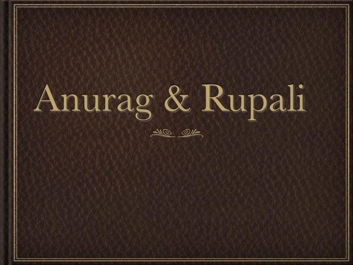 Anurag & Rupali