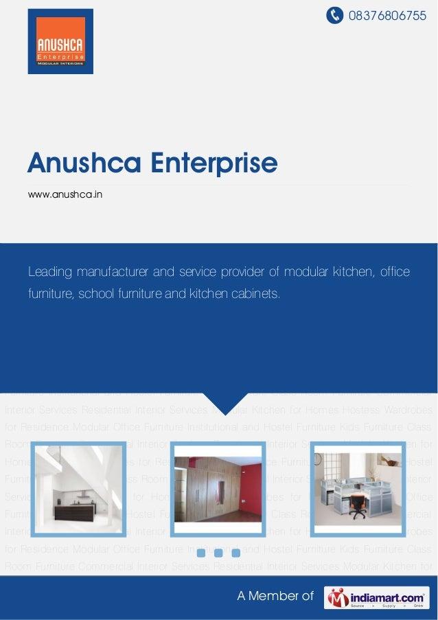 08376806755A Member ofAnushca Enterprisewww.anushca.inModular Kitchen for Homes Hostess Wardrobes for Residence Modular Of...
