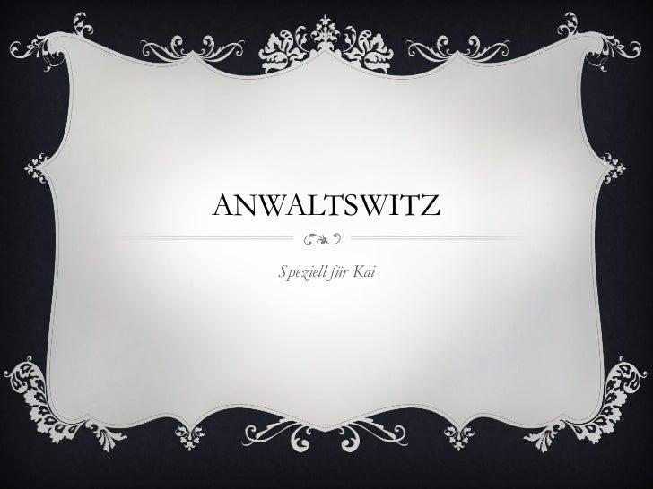 Anwaltswitz