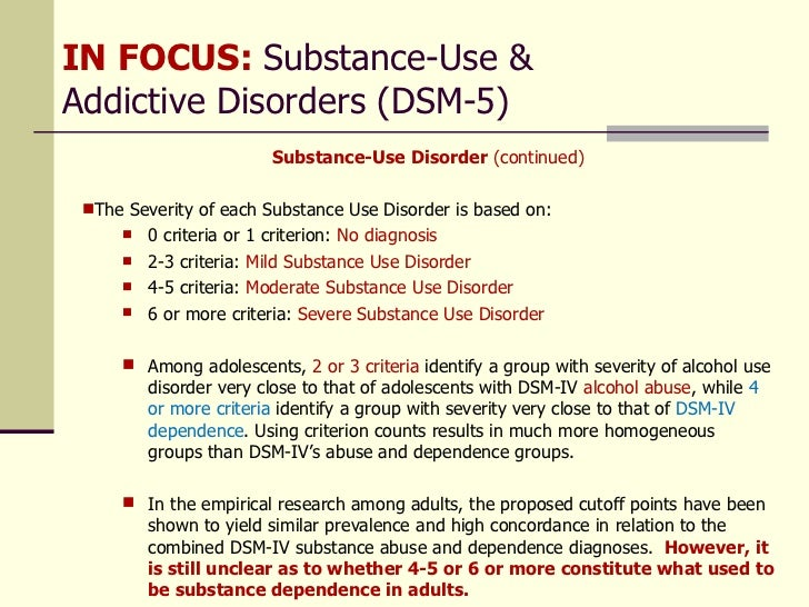 drug induced anxiety disorder recovery