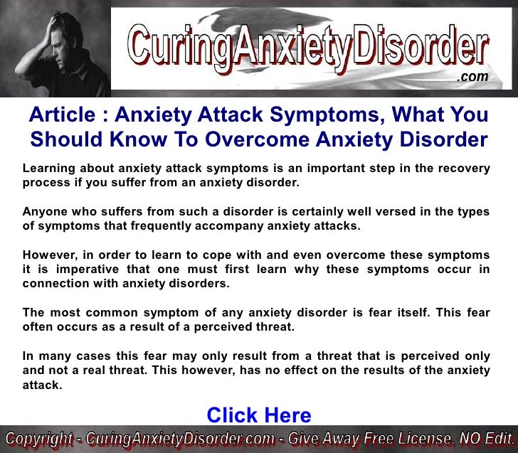 Travelling With Panic Disorder: Anxiety Attack Symptoms, What You Should Know To Overcome