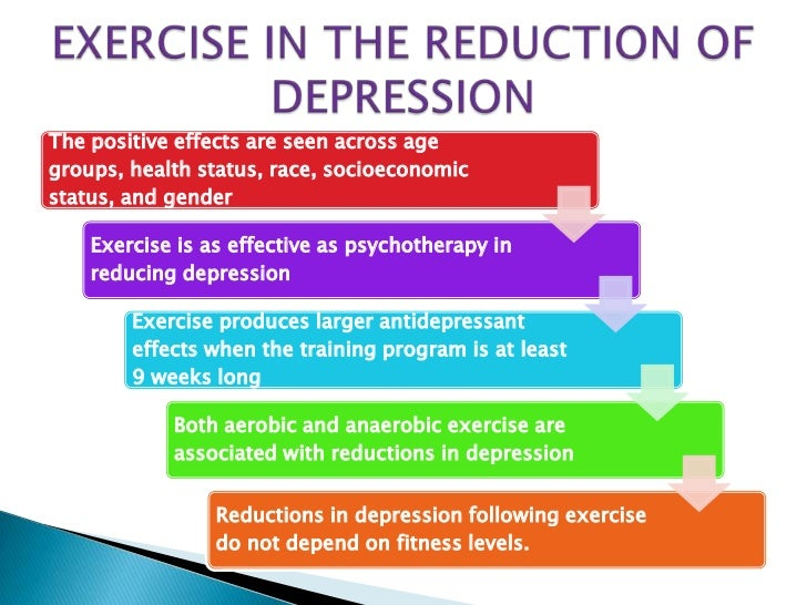 essay on depression and exercise One of these four people will be diagnosed with heart disease, diabetes, obesity, or depression in the course of their life persuasive exercise essay.