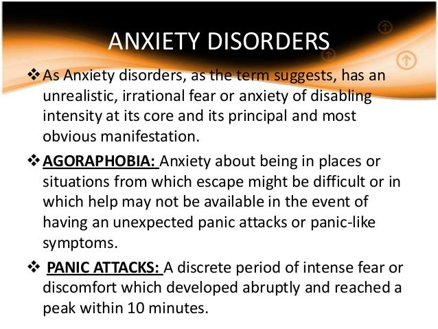 an analysis of the characteristics symptoms and treatment of agoraphobia an anxiety disorder