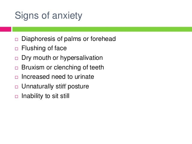 Anxiety reduction hypothesis