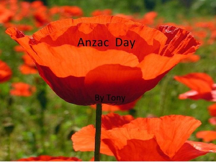 Anzac Day by Tony