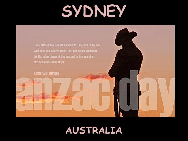 Anzac Day - Sydney