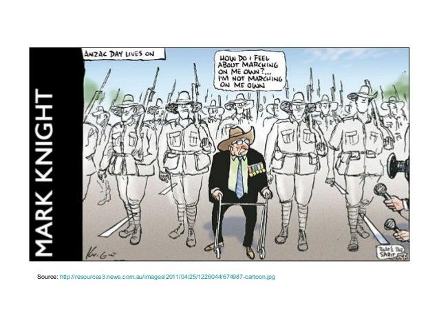 Anzac day cartoons