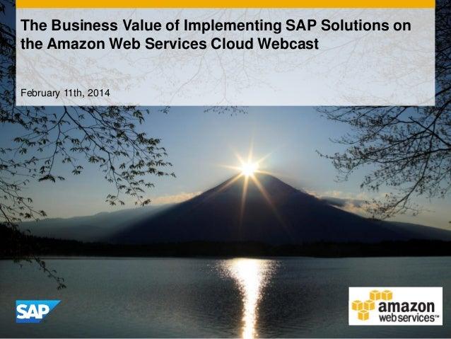 Value of Amazon Web Services