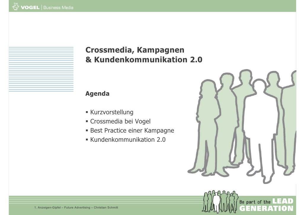 Crossmedia, Kampagnen und Kundenkommunikation 2.0