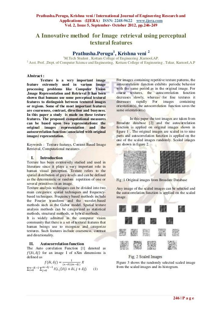 Prathusha.Perugu, Krishna veni / International Journal of Engineering Research and                      Applications (IJER...