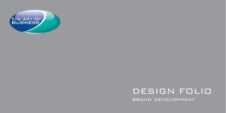 DESIGN FOLIO brand development