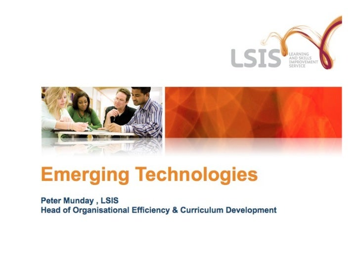 LSIS Emerging Technologies Presentation at AoC 2011