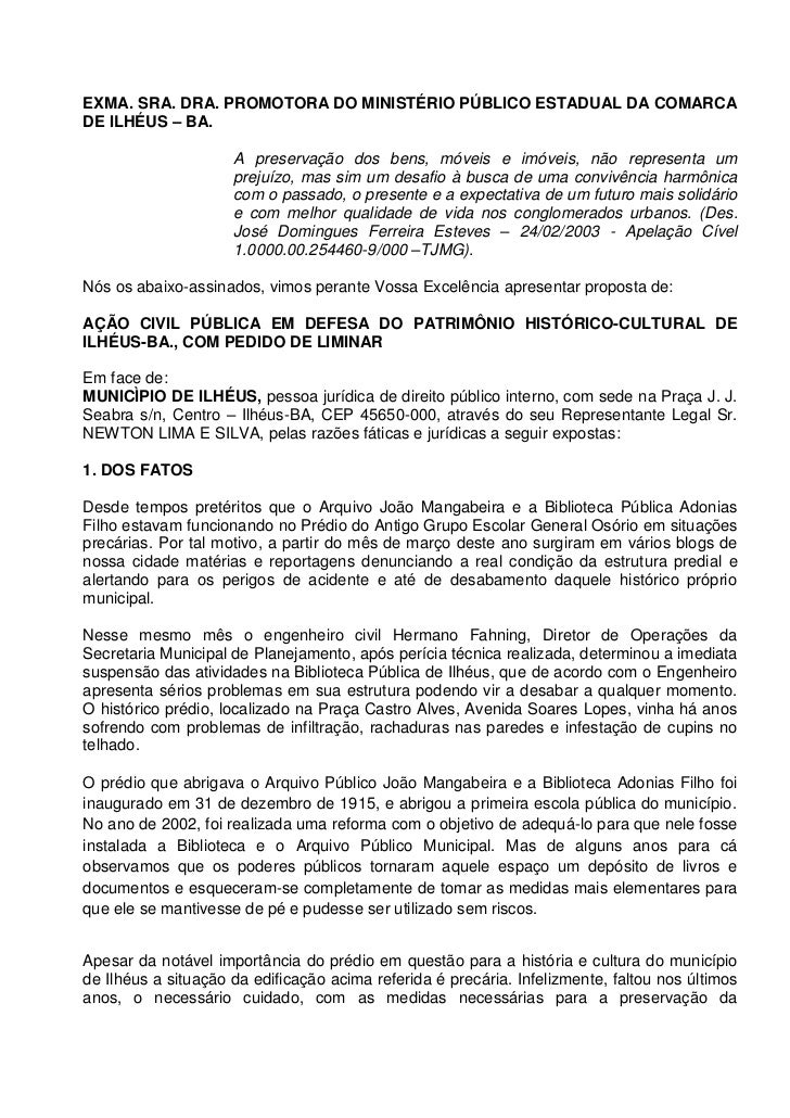 Ação Civil Pública Final   Biblioteca