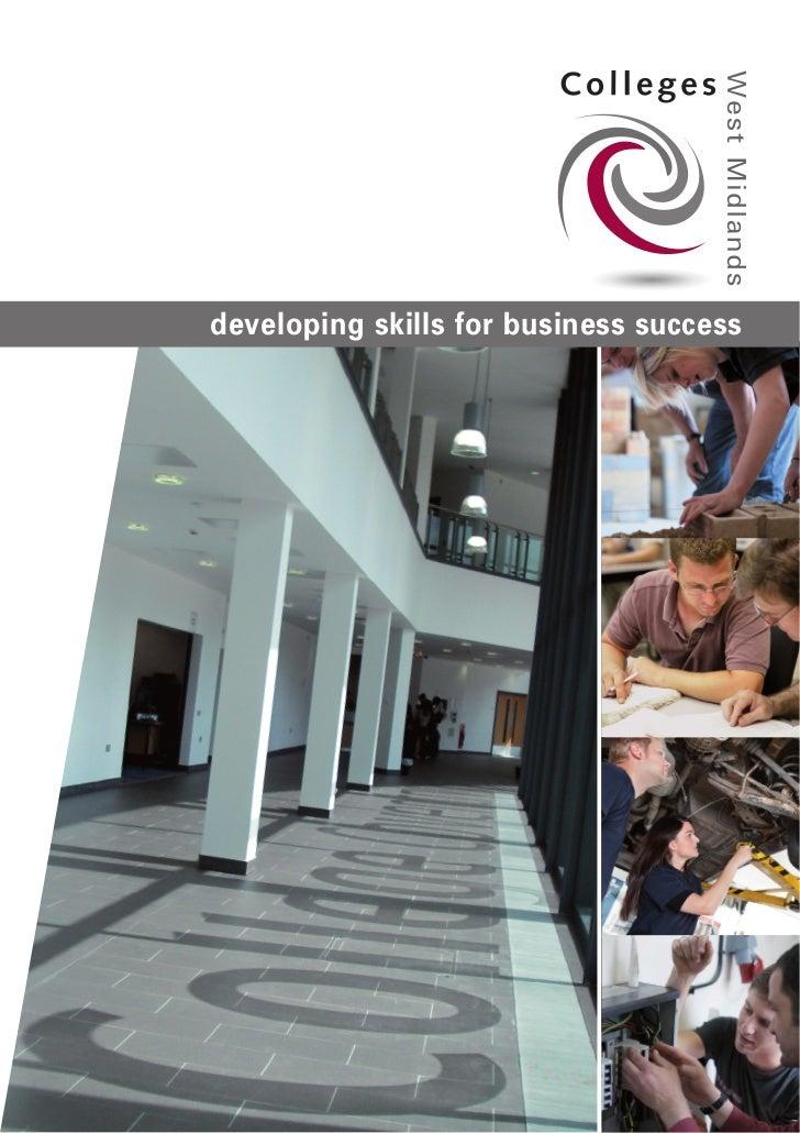 Colleges West Midlands brochure