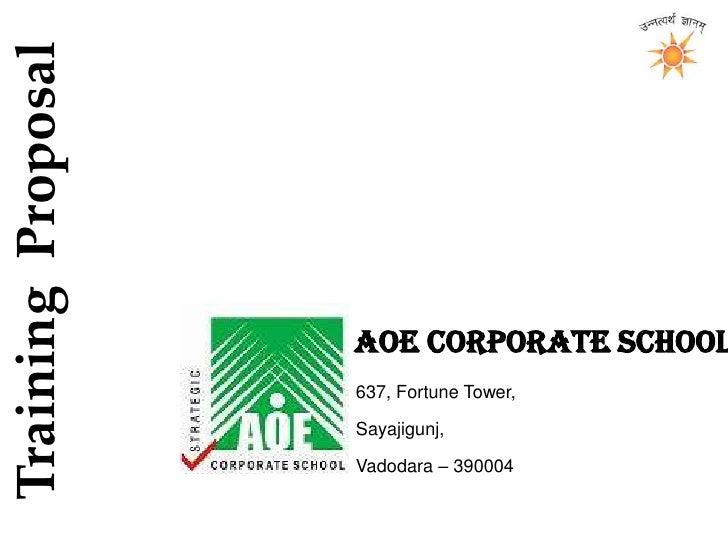 Aoe Corporate School