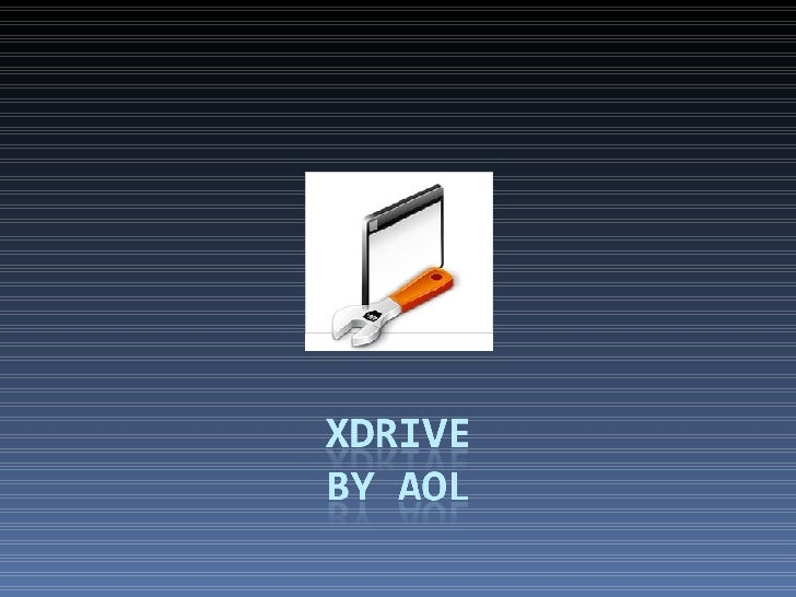 AOL Open Xdrive Api