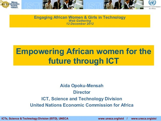 Engaging African Women & Girls in Technology                                                Web Gathering                 ...