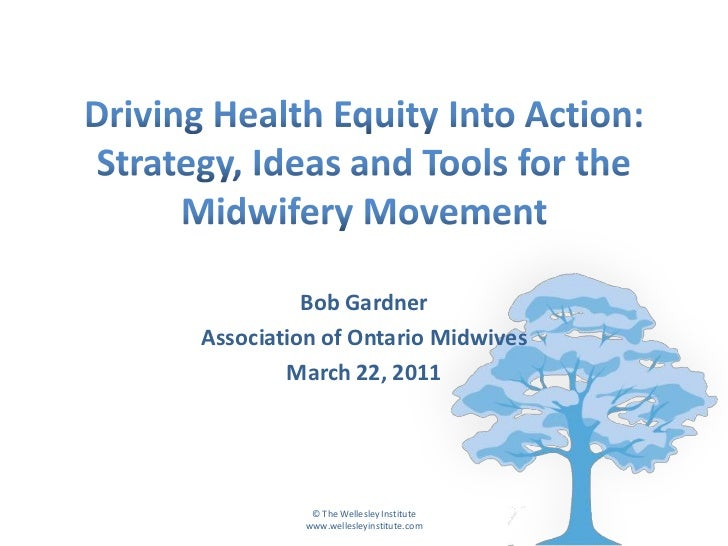 Driving Health Equity into Action: Strategy, Ideas, and Tools for Midwifery Movement