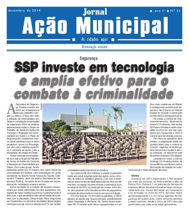 Ano II - Nº 21 02dezembro de 2014 Jornal As cidades aqui Distribuição dirigida Jornal n ano II n Nº 21dezembro de 2014 nn ...
