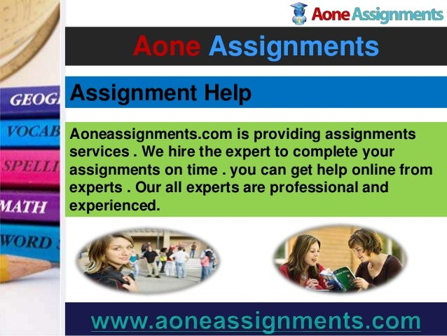 Pay for assignment