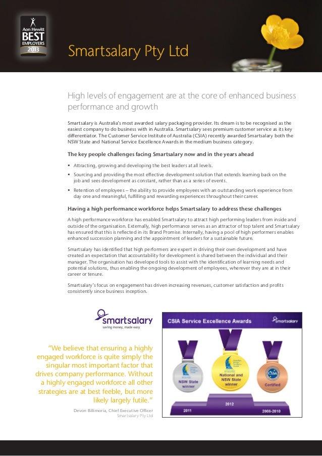 Aon Hewitt best employer 2013 Smartsalary case study