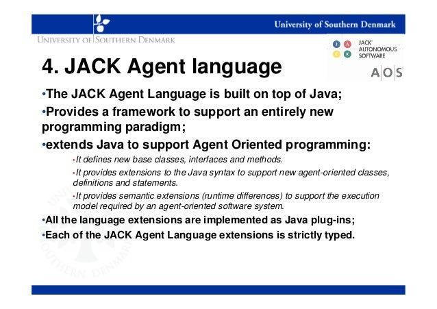 Jack Agent Language Jack Agent Language•the Jack