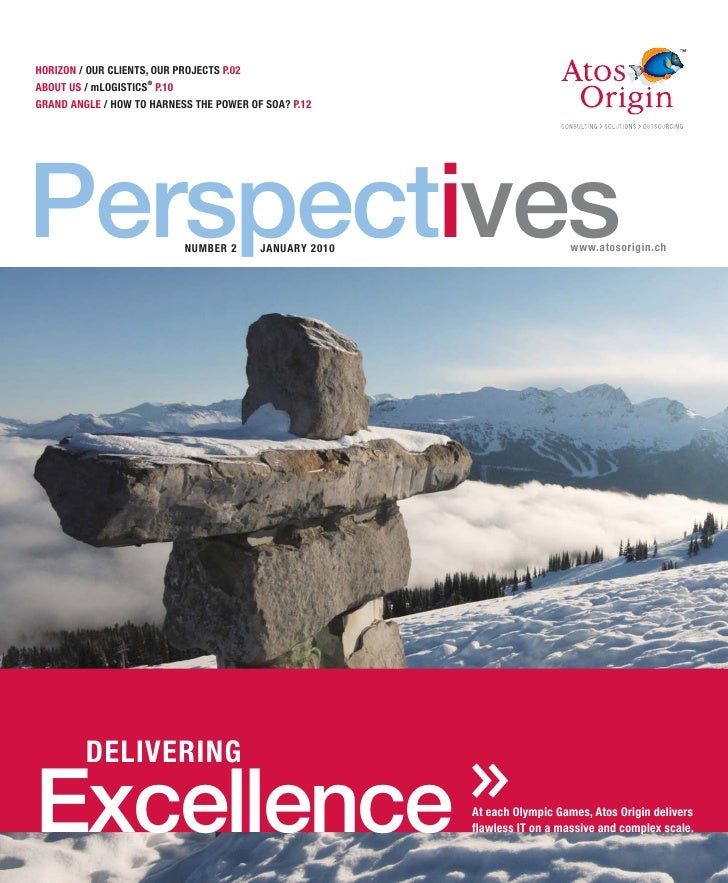 Atos Origin Switzerland Perspectives 2010
