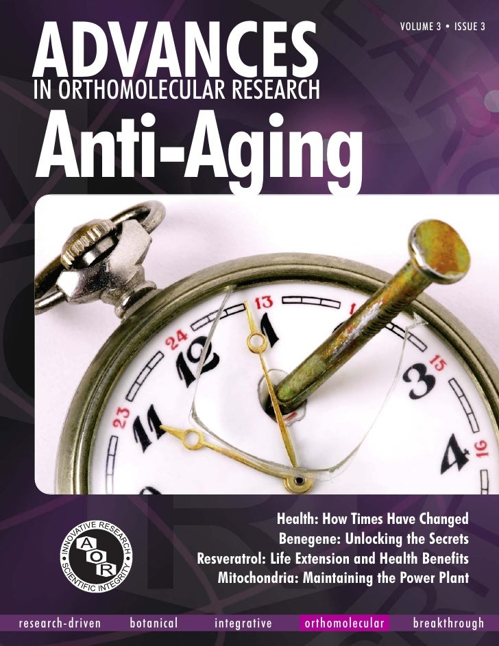 Aor Advances Anti Aging