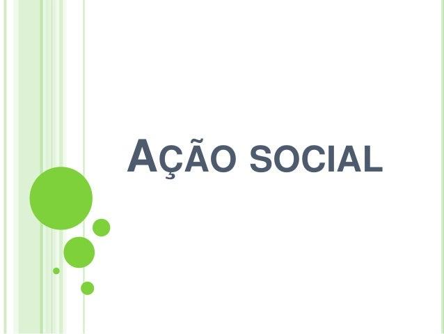 Ação social 3