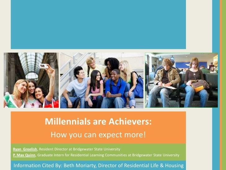#AOTA12 Millennials