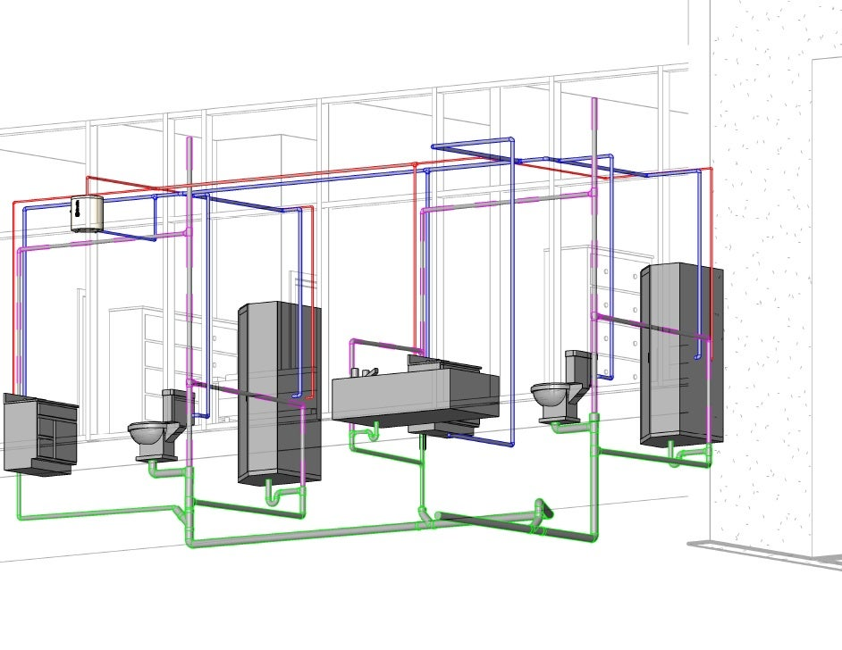 Revit mep 2010 plumbing design 101c for Plumbing remodeling