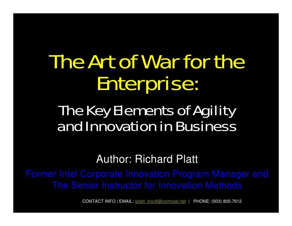The Art of War for the Enterprise