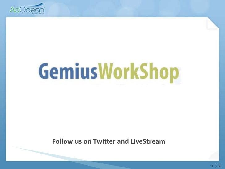 gemiusWorkShop 2011, AdOcean, Toms Panders