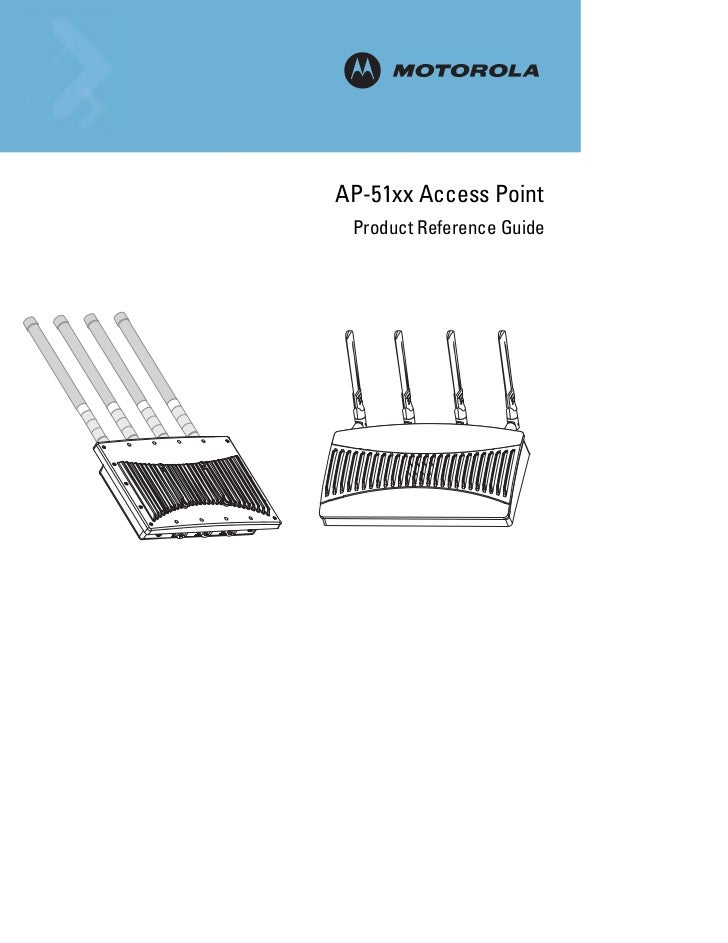 Ap 51xx access point product reference guide