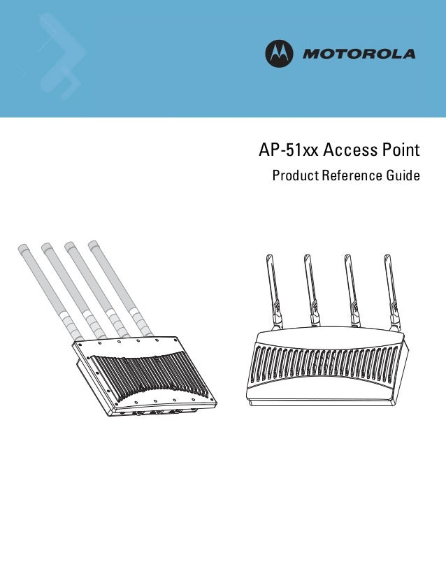 M AP-51xx Access Point Product Reference Guide