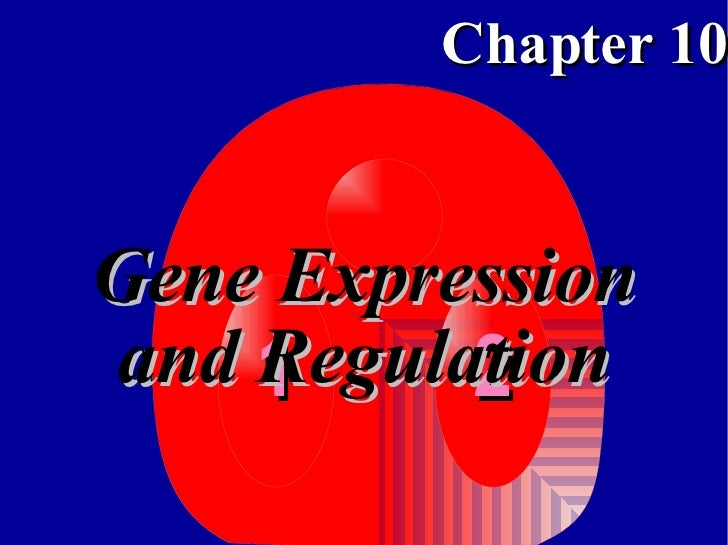 Gene Expression and Regulation