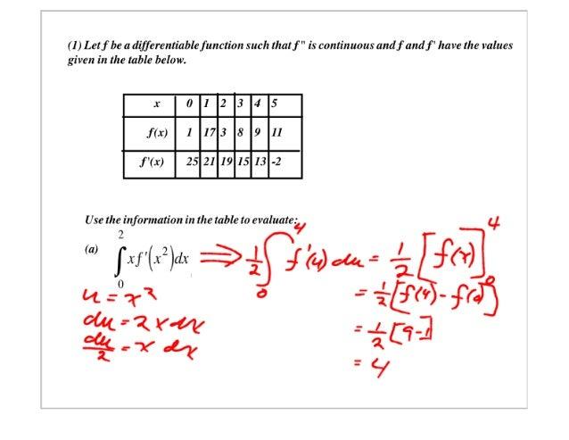 AP Calculus Slides Feb 27, 2007