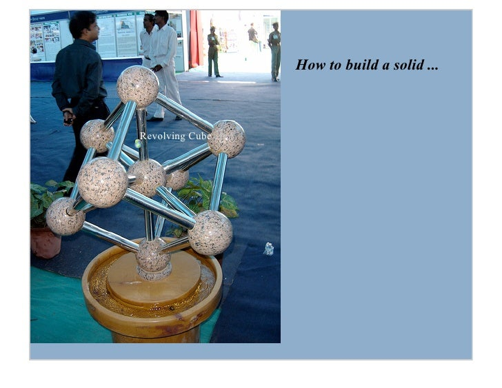 How to build a solid ...    Revolving Cube