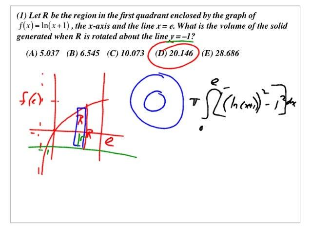 AP Calculus Slides March 21, 2007