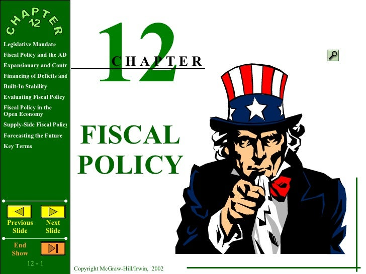 Ap Eco Chap12 Fiscal Policy